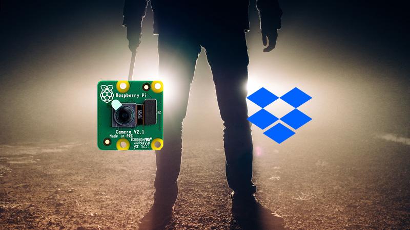 RaspberryPiカメラで画像をdropboxに送る