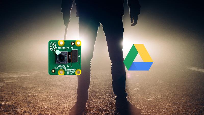 RaspberryPiカメラで画像をGoogleDriveに送る